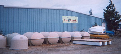Far North Fiberglass plant - Whitehorse, Yukon